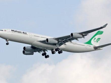 airbus 340 vuelo directo de españa a iran