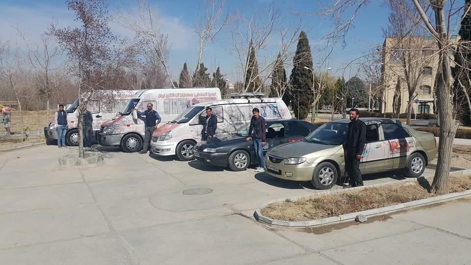 Alquiler de coche con conductor en Iran