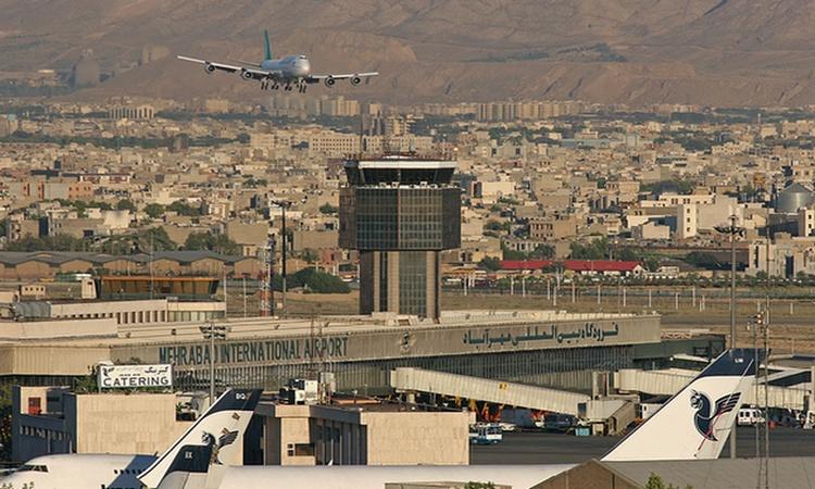 llegada a Iran - Aeropuerto de Teheran
