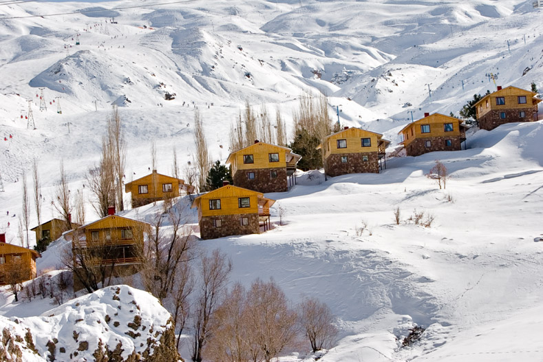 Cabañas en Dizin Ski en Iran