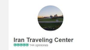 Agencia de viajes Irán Traveling Center opiniones